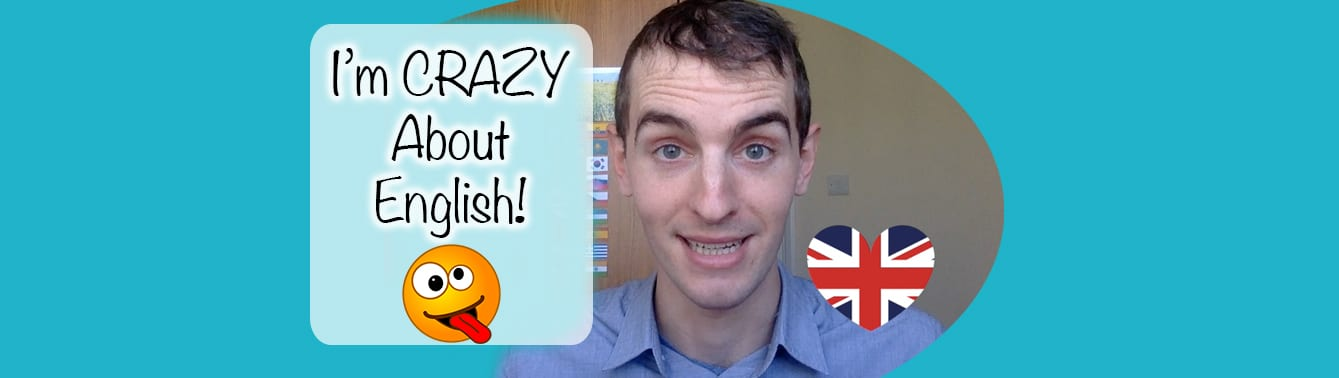 Crazy About English Lesson Online