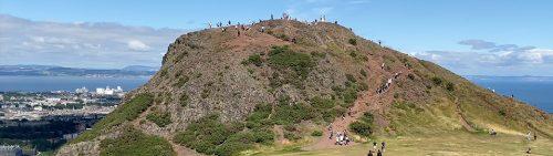 Edinburgh Mountain Volcano