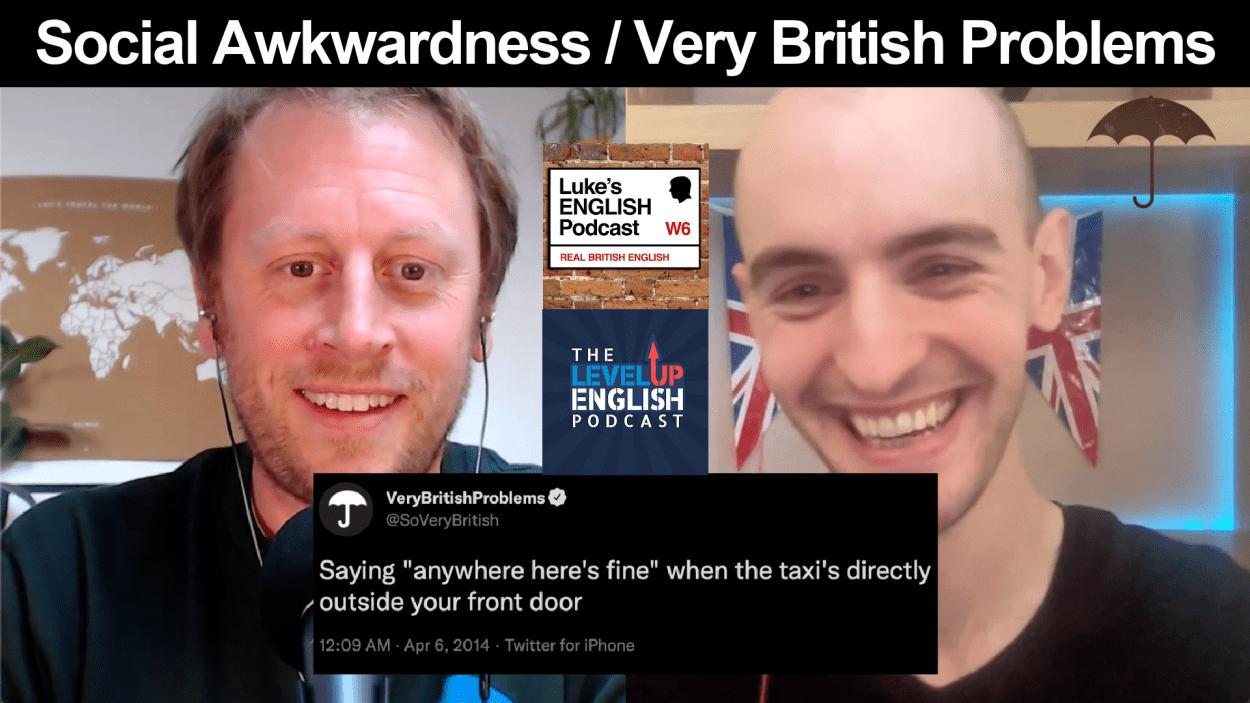 Luke's English Podcast Michael Awkward